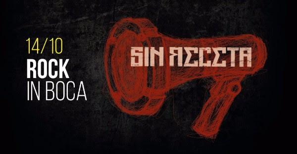 Sin Receta - Flyer