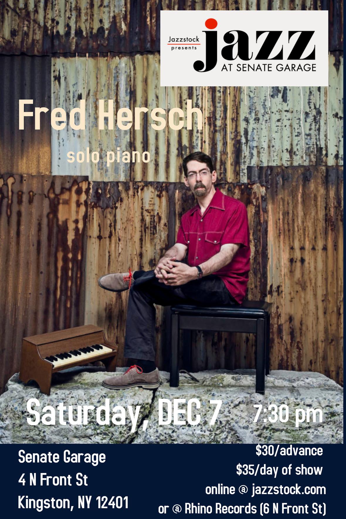 Poster FRED HERSCH