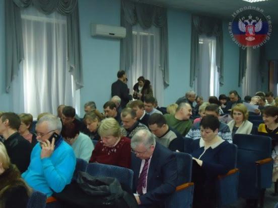 Fondation du Syndicat de la métallurgies et des mines de la République Populaire de Donetsk
