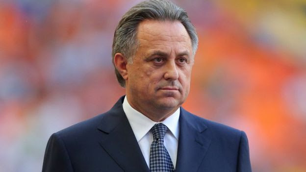 File image of Russian Sports Minister Vitaly Mutko