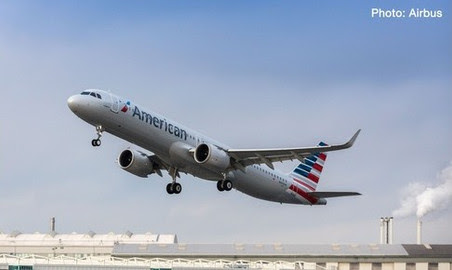 Airbus A321neo American Airlines N400AN | is due: November / December 2017