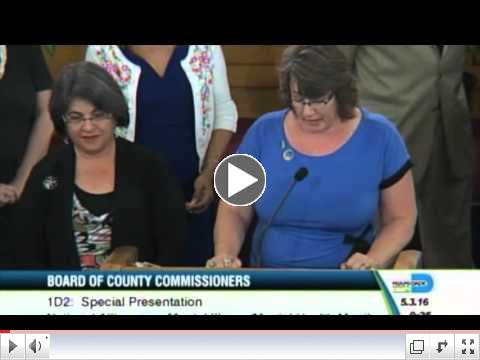 Miami-Dade County Board of County Commisioners NAMI Proclamation
