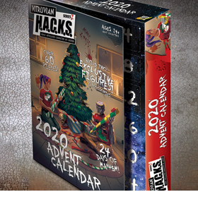 Vitruvian H.A.C.K.S. Limited Edition Advent Calendar
