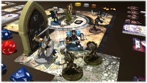 'Swords and Sorcery' on Tabletopia