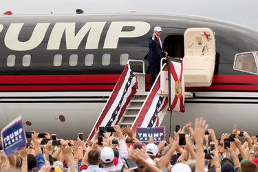 Donald J. Trump at a rally in Lakeland, Fla., on Wednesday.