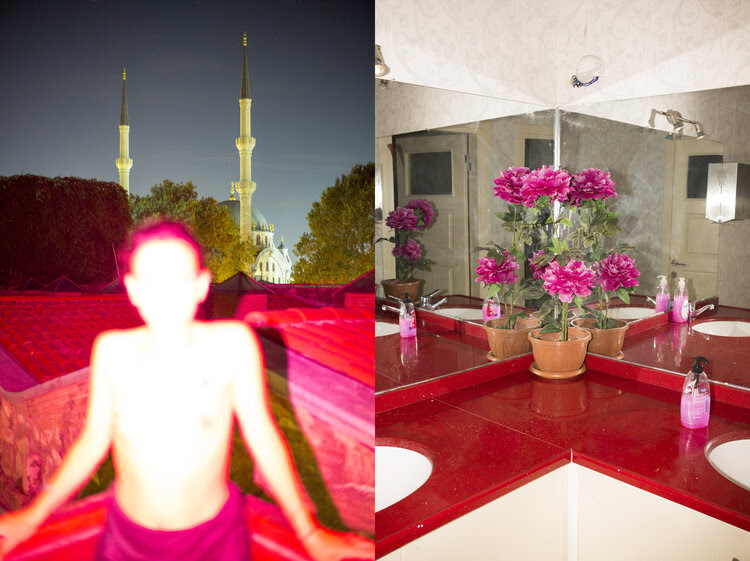 Jean-Marc Caimi & Valentina Piccinni, from the series Güle Güle , 2019, shown in When Images Collide, Wilhelm Hack Museum, Ludwigshafen, Germany, as part of Die Biennale für aktuelle Fotografie, 2020