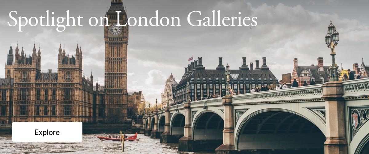 Destaque nas galerias de Londres