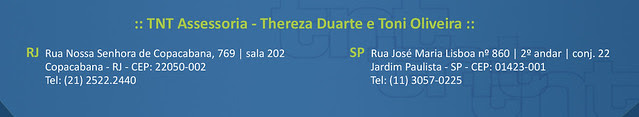 TNT Assessoria de Estilo - Thereza Duarte, Toni Oliveira e Pedro Duarte