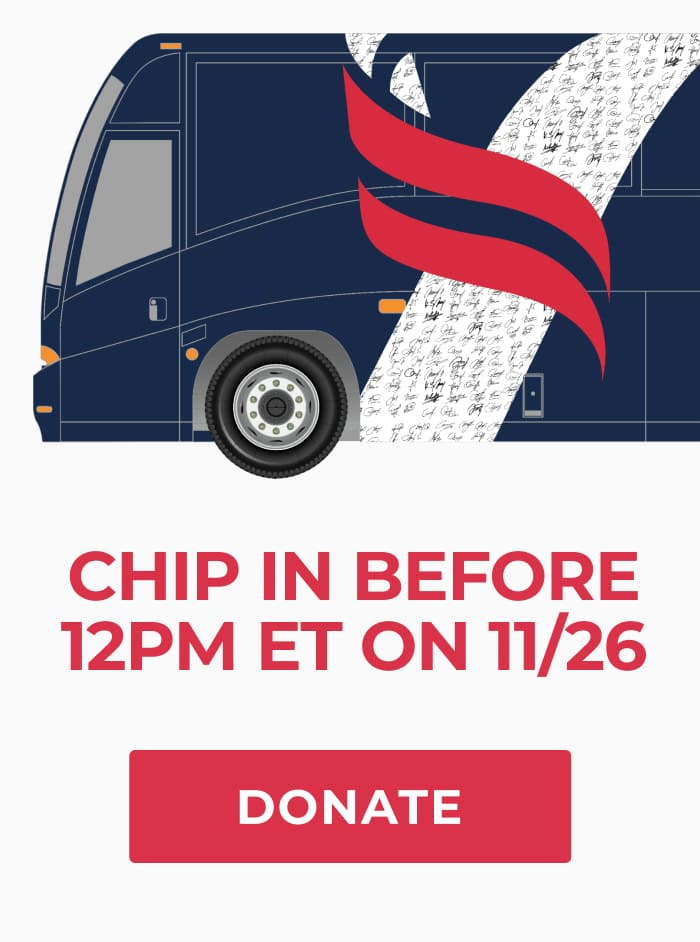 Chip in before 12 PM ET on November 26. Donate now.