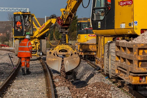 Drainage improvement work between Preston and Blackpool starts this weekend