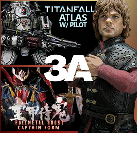 NEW THREEZERO IN STOCK