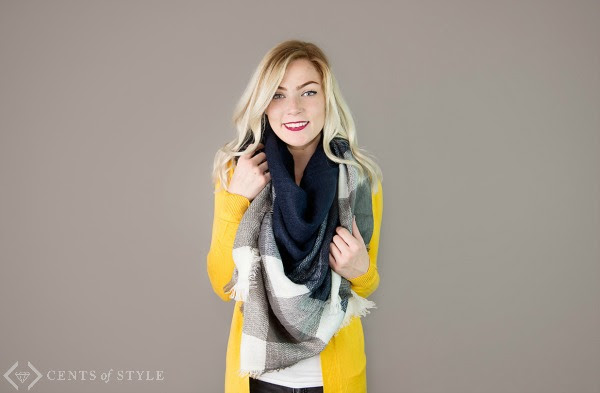 Style Steals: Blanket Scarves - A Wandering Vine