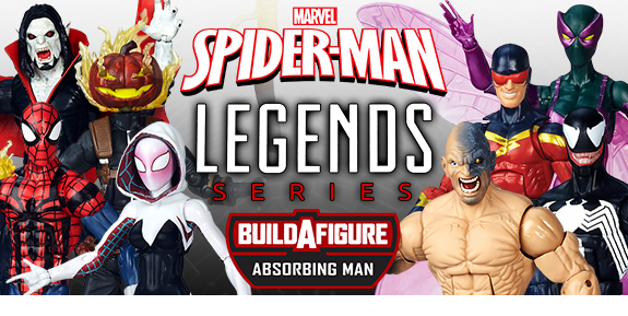 SPIDER-MAN INFINITE LEGENDS ABSORBING MAN BAF