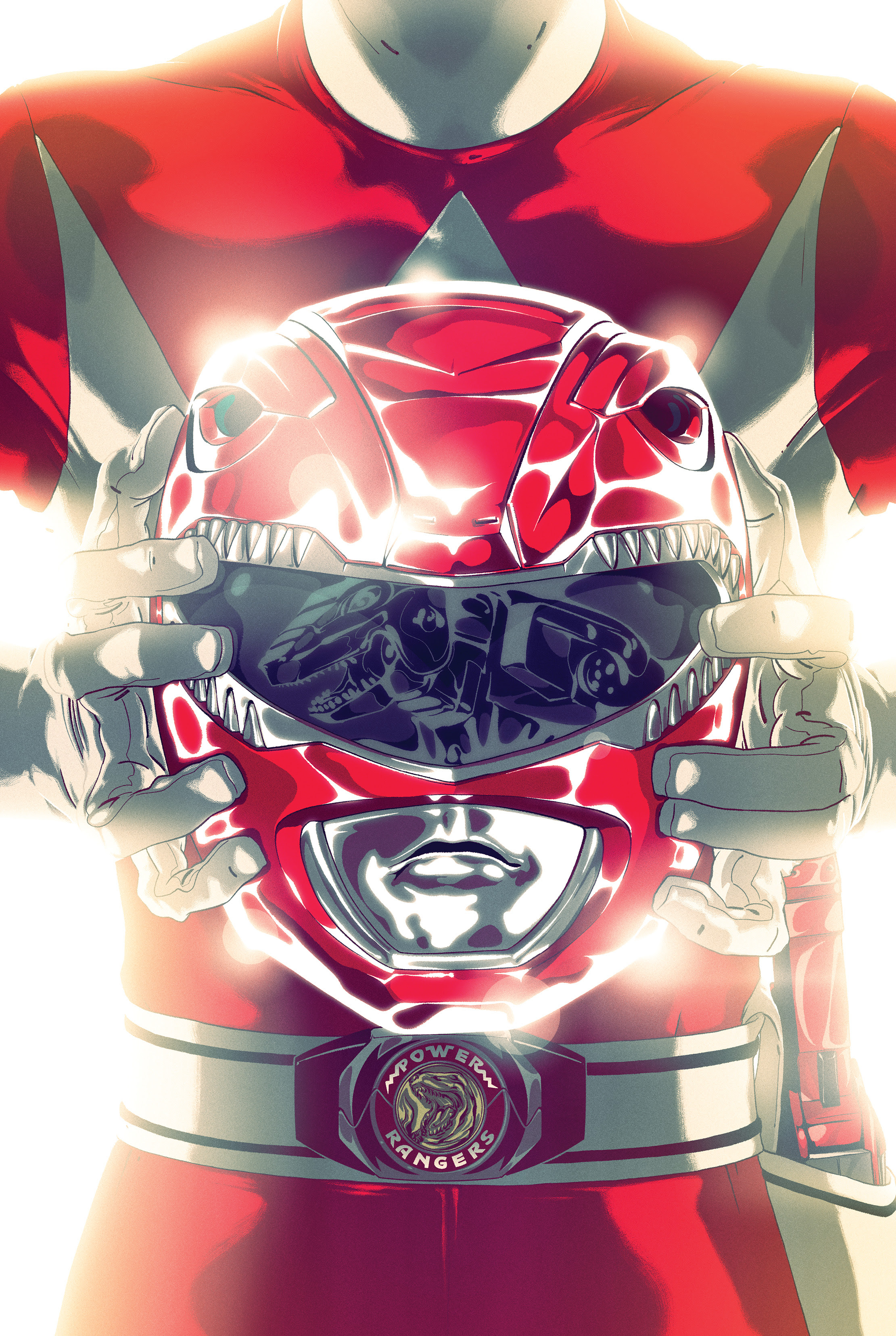 MMPR SDCC Red Ranger