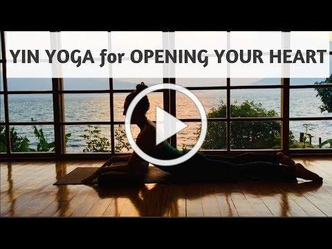 YIN YOGA FOR OPENING THE HEART | YOGA WITH MEDITATION MUTHA