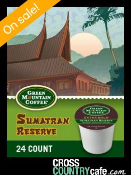 Sumatran Reserve Keurig K-cup coffee