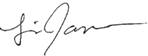 Lisa James Signature