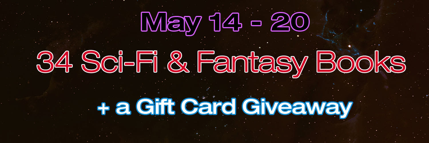 34 Sci-fi & fantasy books + a gift card giveaway May 14-20