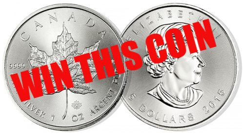 Win a silver coin