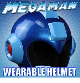 MEGA MAN WEARABLE HELMET