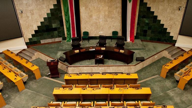 Edificio del parlamento de Sudán del Sur en Juba.