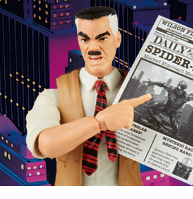 Spider-Man Marvel Legends Retro Collection J. Jonah Jameson