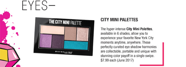 City Mini Palettes