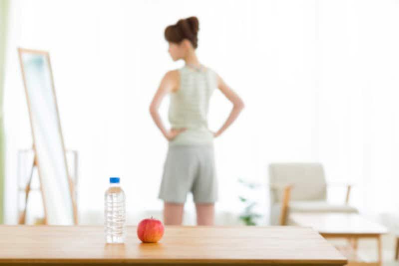 胃が空っぽの状態でフルーツを食べるのがコツ
