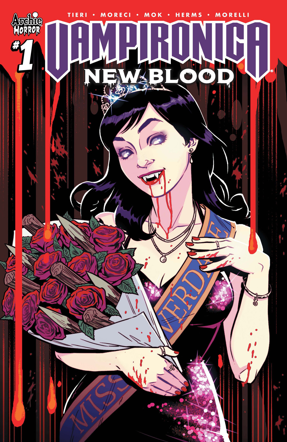 VAMPIRONICA: NEW BLOOD #1: CVR C Isaacs