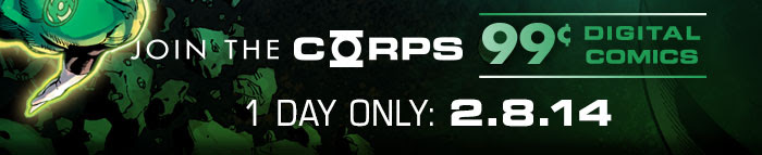 JOIN THE CORPS - 99 CENT DIGITAL COMICS - 1 DAY ONLY: 2.8.14
