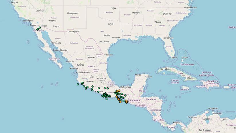México registra casi 60 temblores en 12 horas tras la explosión de Popocatépetl