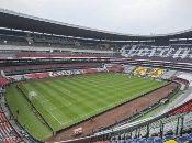 El mítico Estadio Azteca albergó la primera final que se disputó fuera de Suramérica.