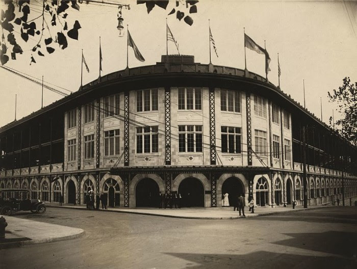 16. The first baseball stadium was built in Pittsburgh.