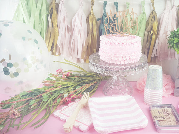 Woodland Fairy Party Theme