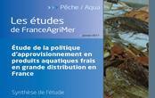 Etude sur la politique d'approvisionnement en produits aquatiques frais en grande distribution en France