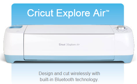 "New Cricut Explore Airâ""¢ Now."