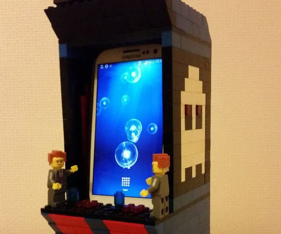 Lego Phone Station