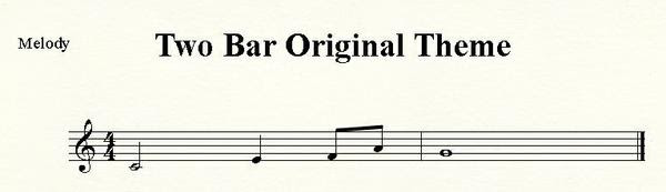 Two Bar Original Theme