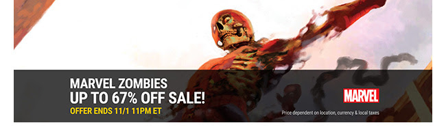 Marvel Zombies Sale: up to 67% off! | Ends 11/1
