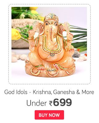God Idols - Krishna, Ganesha & more