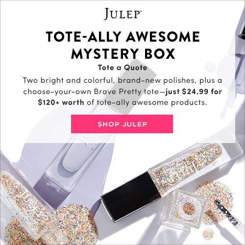 TOTE-ALLY AMAZING JULEP MYSTERY BOX: $120+ of product for just $24.99
