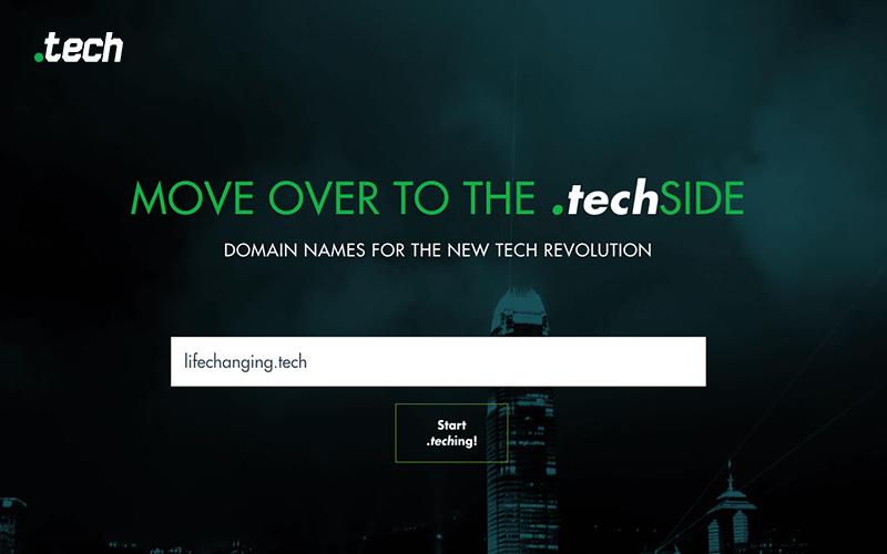 .Tech Domain Name Registration