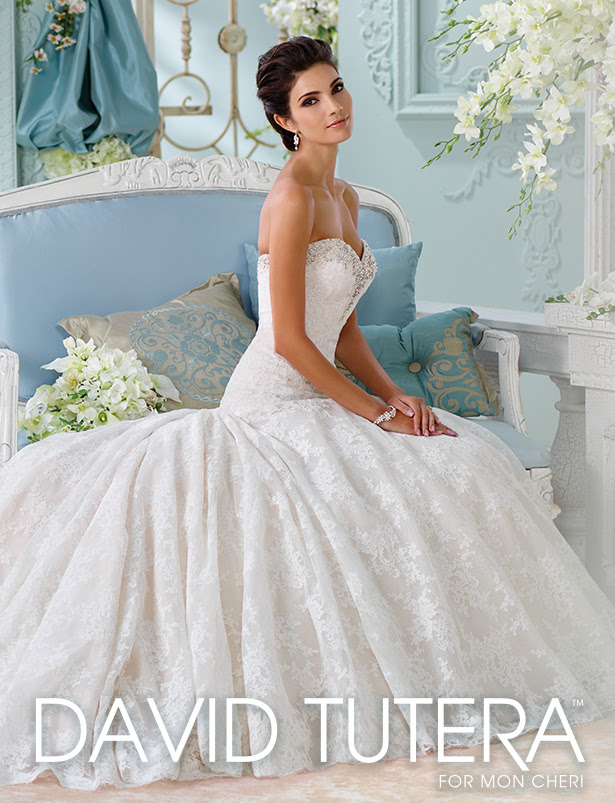David Tutera for Moncheri Wedding Dresses