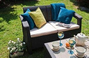 Keter Corfu with cozy outdoor seating for two