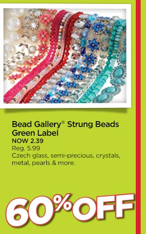 Bead Gallery® Strung Beads Green Label
