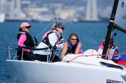 J/70s sailing Yachting Cup