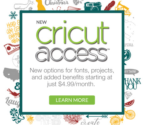 New Cricut Access - Fonts and.