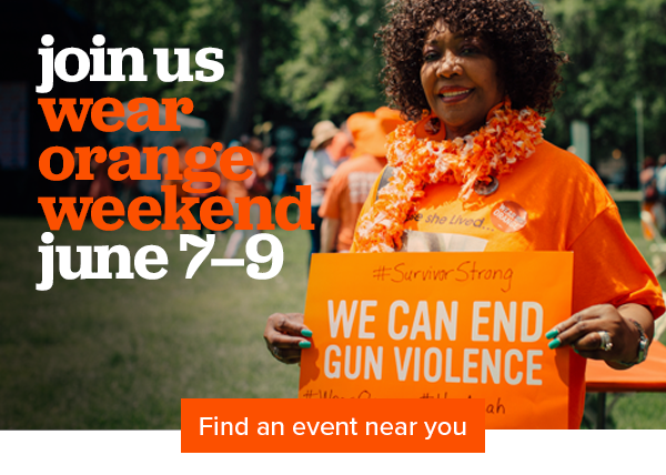 Find a Wear Orange event in your area
