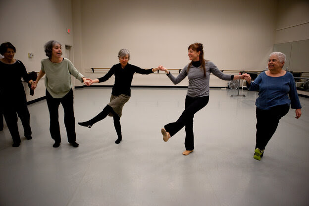 """""""Dance for PD"""" classes use music to temporarily ease tremors and get Parkinson's patients moving."""
