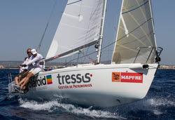 J/80 sailing Copa del Rey